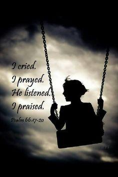Psalms 66:17-20