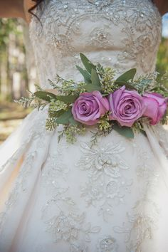 fresh flower sash - Google Search