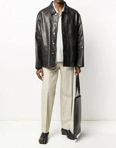 Shop Maison Margiela 2020 SS Pants (S50KA0506S52647) by fleurunique | BUYMA Luxury Handbags, Margiela, Luxury Fashion, Bomber Jacket, Women Wear, Normcore, Fitness, Pants, Leather