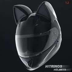 These Cat-Themed Motorcycle Helmets Are All Ears