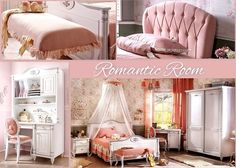 36d38b69c36 Ένα υπέροχο παιδικό δωμάτιο για τις μικρές μας φίλες από την σειρά Romantic  Δείτε όλο το
