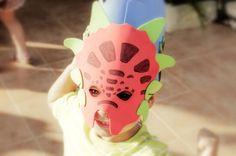Máscara de dino