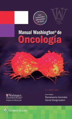 Manual Washington de oncología   #Oncologia #LibrosdeOncologia #Medicina #LibrosdeMedicina #Cancer #AZMedica