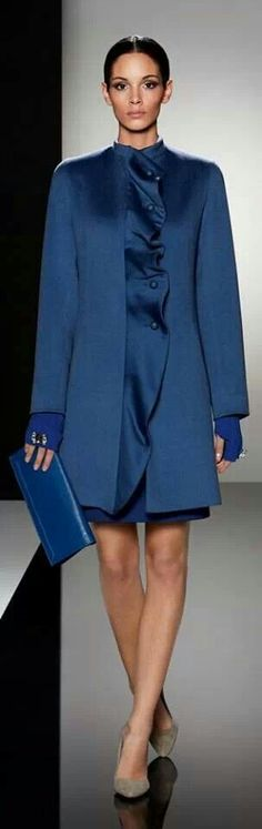 Business Chic in royal blue........