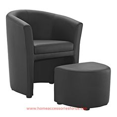 Modway Divulge Armchair and Ottoman, Black  BUY NOW     $121.33    Reveal wondrous moments with the Divulge faux leather arm chair. Made with a self-storage tuck away ottoman, thoroughly enjoy ..  http://www.homeaccessoriesforus.top/2017/03/12/modway-divulge-armchair-and-ottoman-black-2/