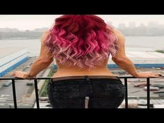 Pink Ombre Hair Coloring Ideas