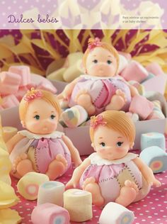 Dulces Bebés - Porcelana Fría