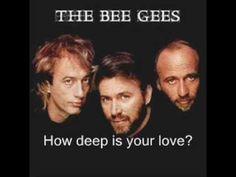 Bee Gees - How Deep Is Your Love (Lyrics)