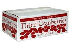 Amazon: 4 Pound Box of Dried Cranberries Only $19.75 Shipped!