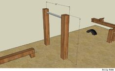 Monkey Bar and balance beam