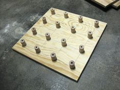 OMG so simple and AMAZING!!! totally making these!  DIY Square Foot Garden Planting Templates