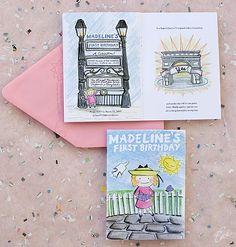 Baby Madeline - Luxury First Birthday Invitation - Ceci Baby - Ceci New York