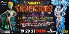 Cabaret Tropicana en el Teatro Opera Allianz   Por primera vez en Argentina TROPICANA el cabaret cubano más famoso del mundo.  Un elenco de 50 bailarines llegan a desplegar su color sensualidad y ritmo de la cultura afrocubana a un show que ha obtenido reconocimiento mundial.    Toda la magia de Cuba llega junto a los bailarines diseñadores coreógrafos y escenógrafos que dan vida al principal espectáculo de Cuba que sale al mundo.    Tropicana es un famoso cabaré cubano creado en 1939 en La…