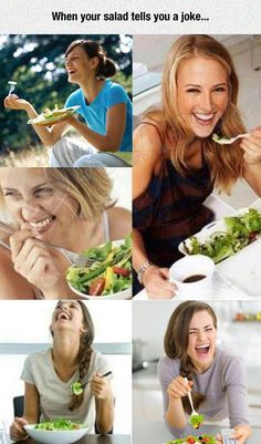 Oh Salad, You Are So Funny