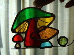 mushroom stained glass - Google Search