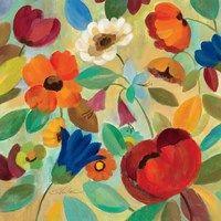 Framed Summer Floral IV