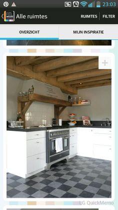 Mooie schouw keuken