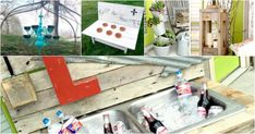 Outdoor Living Areas, Recycled Crafts, Sunny Days, Recycling, Summer, Summer Time, Repurpose, Verano, Upcycle