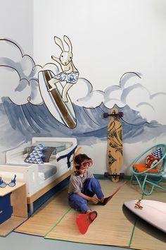 Nuevos murales infantiles de Coordonne - Encuéntralo en Papeles Pintados Aribau (c/Aribau nº 71 Barcelona)