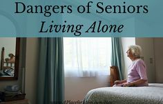 Research shows that staggering numbers are facing the dangers of seniors living alone, instead of receiving assisted living care. Learn more.