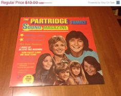 ON SALE The Partridge Family SOUND Magazine Lp Vinyl Record