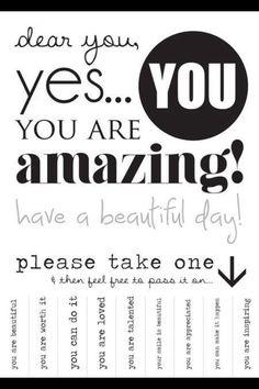 Share the love :) pass these around