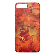Autumn Sun Abstract Painting Phone Case