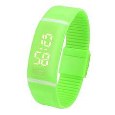Splendid Luxury Electronic Watch Watches Mens Womens Rubber LED Watch Date Sports Bracelet Digital Wrist Watch