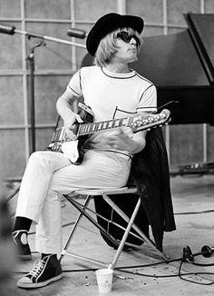Brian Jones with Gibson Firebird