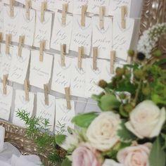 cool vancouver wedding Sneak peek of our floral filled escort card frame | Calligrapher @foxandflourish #chandelierwedding #chandelierstyling #bespoke #calligraphy #moderncalligraphy  #vancouverwedding #vancouverweddingstationery #vancouverwedding