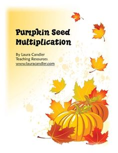 Hands-on activity for introducing multiplication using a pumpkin theme