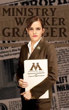 Hermione Granger, ministry worker
