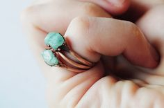 Hey, I found this really awesome Etsy listing at https://www.etsy.com/listing/227973735/emerald-ring-electroformed-ring-copper