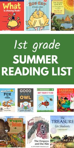 Best books for grade summer reading. Includes easy readers for kids learning how to read and picture books for adults and children to read aloud together. Kids Reading Books, Reading Activities, English Activities, Summer Activities, 1st Grade Books, First Grade Reading, Summer Reading Program, Summer Reading Lists, Kids Learning