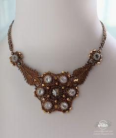 "necklace and earrings ""Casual Opulence"" by Yuliyart, via Flickr"