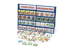Pocket chart, table top- sequencing (many colors)