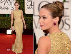emily blunt in michael kors – 2013 golden globe awards - Google Search