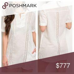 🌟COMING SOON🌟Tunic Dress🌟 🌟Great Tunic Dress🌟Pocket🌟60% Linen & 40% Cotton🌟Wonderful swimwear coverup....cruise, beach, island...Wear on those warm spring/ summer nights, pair w/ sandals🌟LIKE to get update Dresses Mini