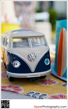 VW Bus theme for first birthday party! Great for his first birthday which will be in GERMANY!!!!