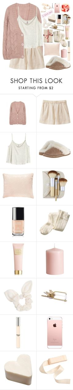 """""""2514. No beauty shines brighter than that of a good heart."""" by chocolatepumma ❤ liked on Polyvore featuring Giada Forte, H&M, Old Friend, Pine Cone Hill, Chanel, AERIN, Dorothy Perkins, Chloé and Merci Gustave!"""