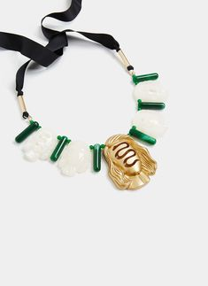 Uterqüe Denmark Product Page - New in - View all - Faces necklace - 590