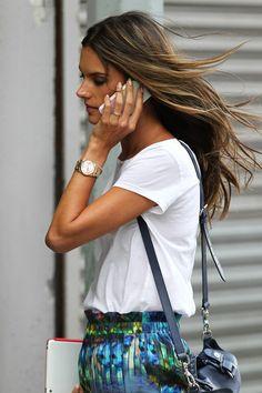 Alessandra Ambrosio - Alessandra Ambrosio Out in Windy NYC