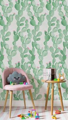 A Cactus Themed Room For Kids Home Interiors Wigwam Style Children's rooms