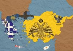 Greek Culture, Fantasy Map, Alternate History, Ancient Greece, Byzantine, Flags, Photography, Life, Geography