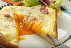 とろとろ半熟卵が決め手!カルボナーラトーストの作り方 - macaroni