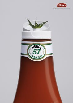 shows their ketchup is using fresh tomatoes and taste good. wants people to know that we are the best ketchup and you should use Heinz's