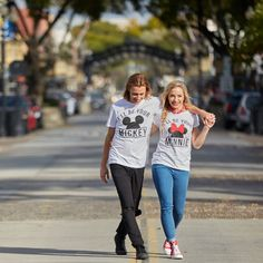 Minnie & Micky: The perfect match // Disney Mickey & Minnie MouseT-Shirt