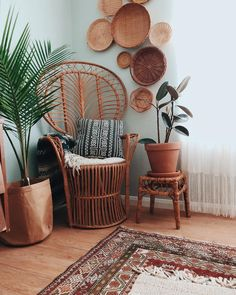 Home is where all my Wicker/rattan is.  Have a blessed weekend! ♡ • • • • #bohodecor #broughttoyoubythrifting #myhomeismyhappyplace…