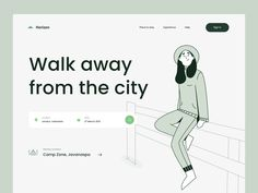 Trip and Travel Landing Page by Farhan Fauzan Ui Web, Web Design Inspiration, Landing, Travel, Website, Viajes, Trips, Traveling, Tourism