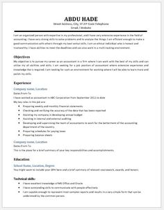 Accounting Assistant Resume Gorgeous Accounting Clerk Resume Download At Httpwriteresume2 .